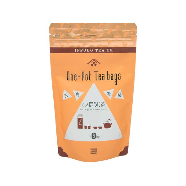 IPPODO One Pot Tea Bags - Kuki Hojicha Roasted Stems  (63g)