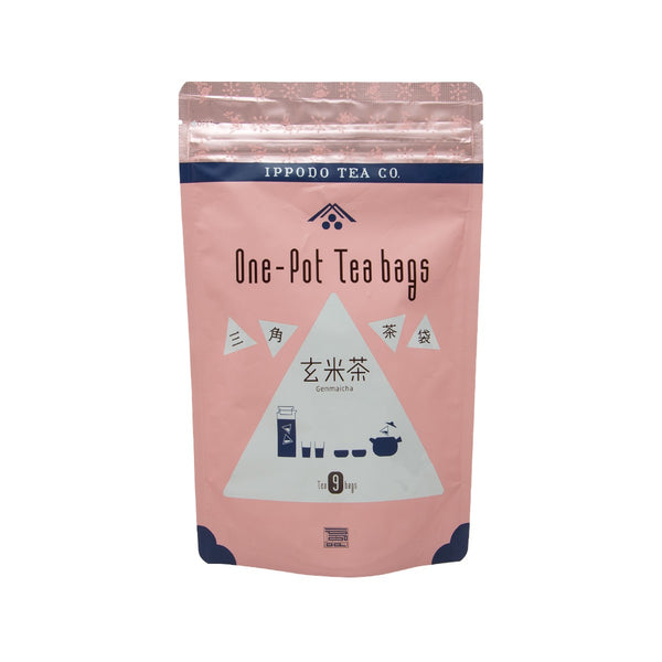 IPPODO One Pot Tea Bags - Genmaicha  (90g)