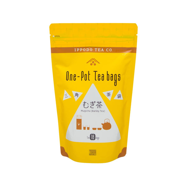 IPPODO One Pot Tea Bags - Mugicha Barley Tea  (180g)