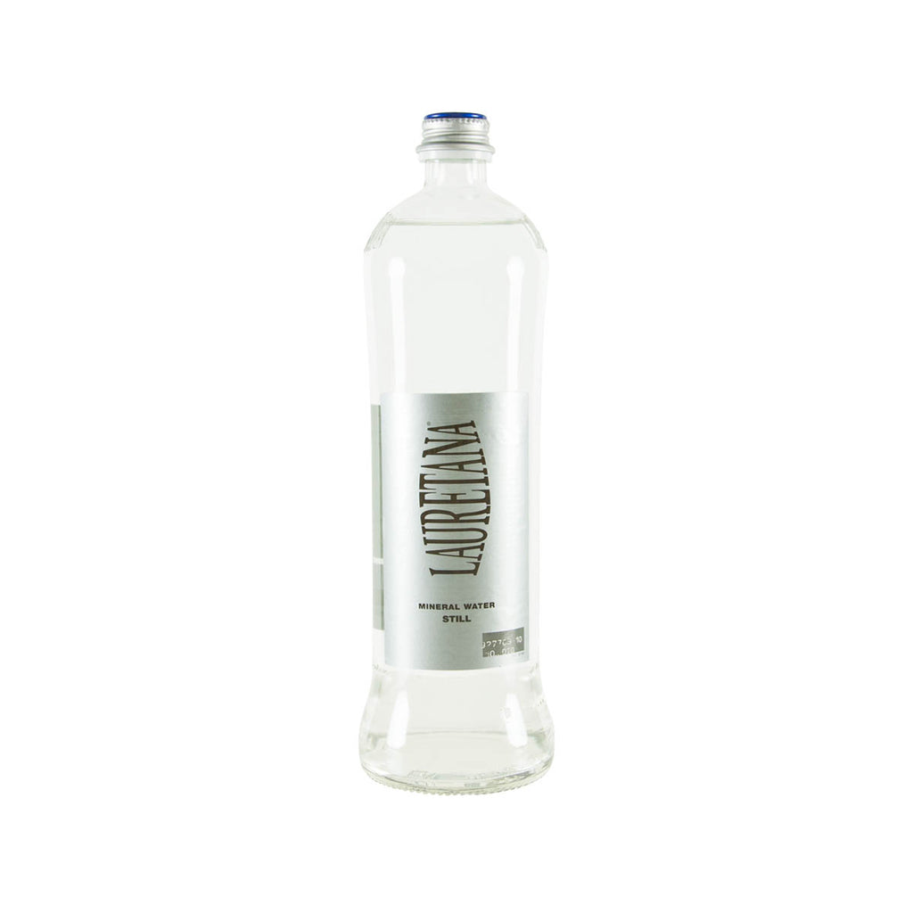 LAURETANA Natural Mineral Water - L [Glass Bottle]  (750mL)