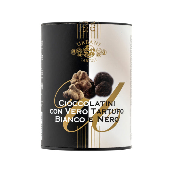 URBANI Black and White Truffle Chocolate Bonbons [Tube]  (100g)