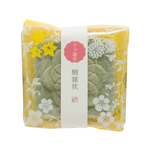 HANAICHIE Instant Rice Porridge In Rice Wafer - Sea Bream  (22g)