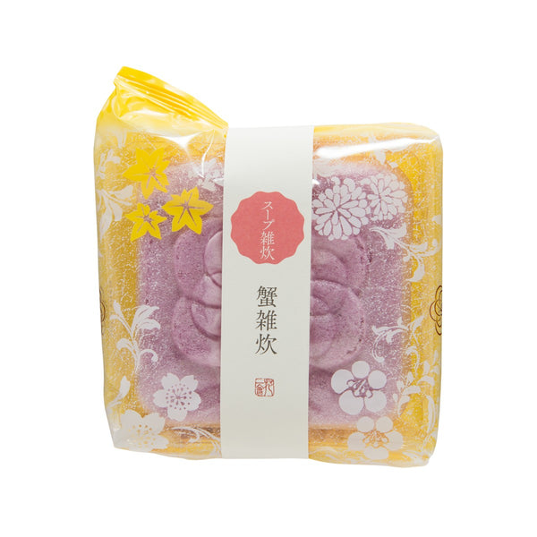 HANAICHIE Instant Rice Porridge In Rice Wafer - Crab  (23g)