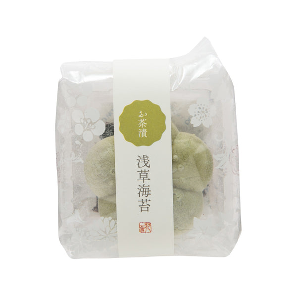 HANAICHIE Instant Ochazuke Topping In Rice Wafer - Nori Seaweed  (6g)