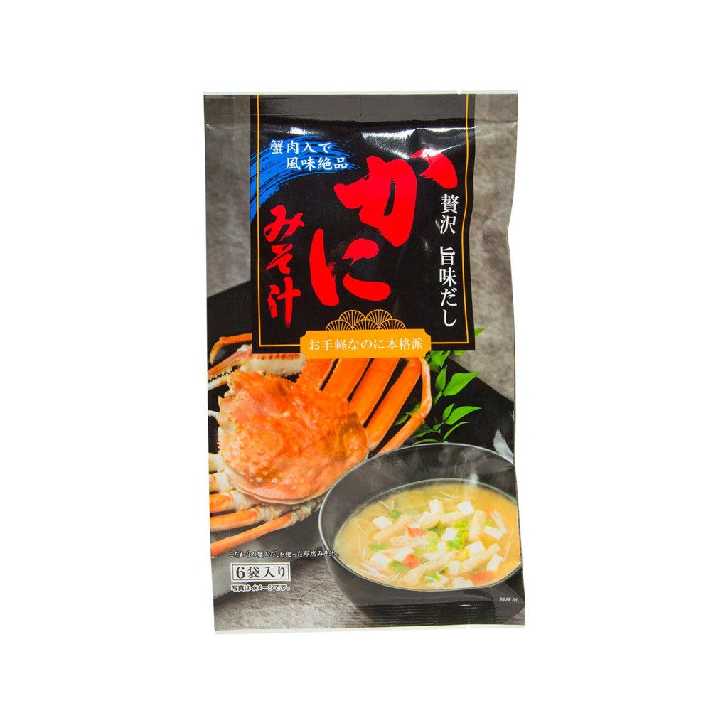 TOKAINOSAN Instant Miso Soup - Crab  (54g)