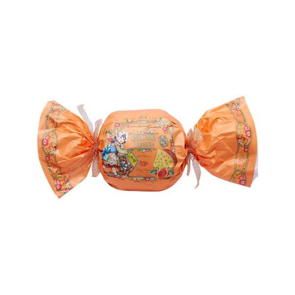 VIRGINIA Panettone with Candied Apricot - Orange Bon-Bon Gift Wrap  (1kg)