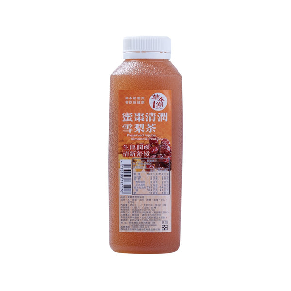 HERBAL TREND Preserved Jujube, Almond & Pear Tea  (450mL)