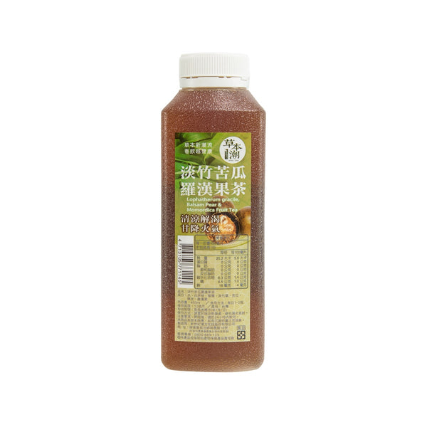 HERBAL TREND Lophatherum Gracile, Balsam Pear & Momordica Fruit Tea  (450mL)