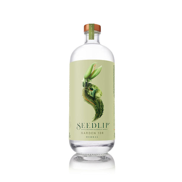 SEEDLIP Distilled Non-Alcoholic Spirits - Garden 108 Herbal  (700mL)
