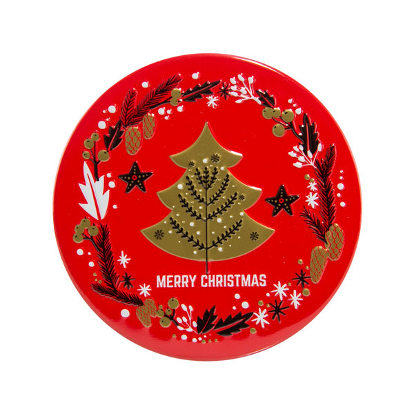 EUREKA X'mas Circle Can Cookies  (18g)