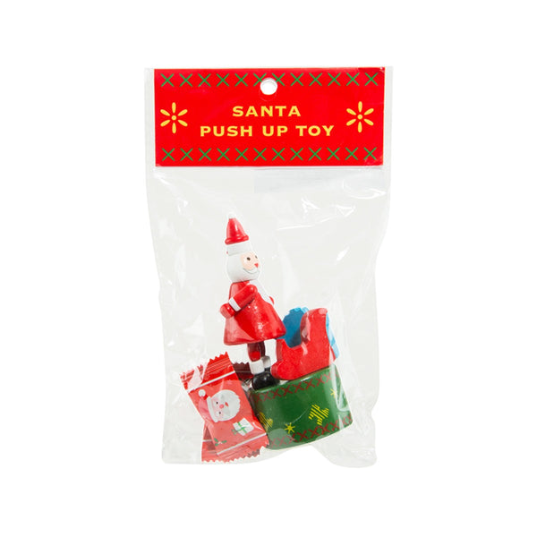 EUREKA Santa Claus Wooden Toy With Candy  (4g)