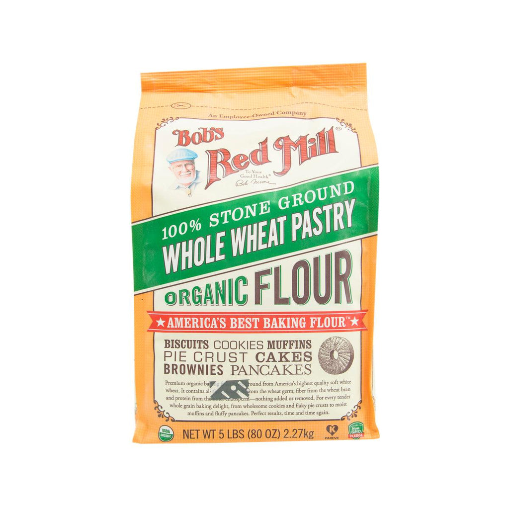 BOB'S RED MILL Organic Wholewheat Pastry Flour  (2.27kg)