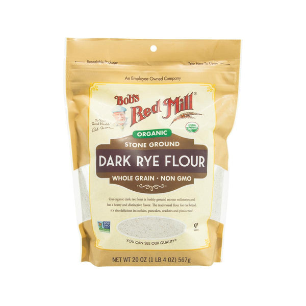 BOB'S RED MILL Organic Dark Rye Flour  (567g)