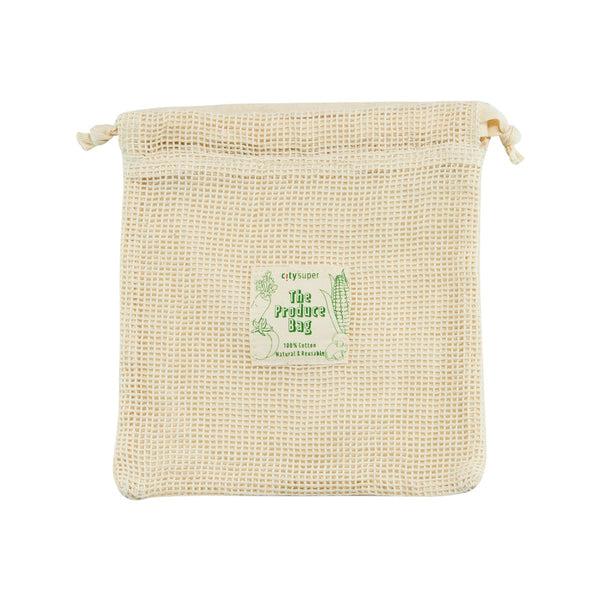 CITYSUPER Cotton Produce Bag - Small