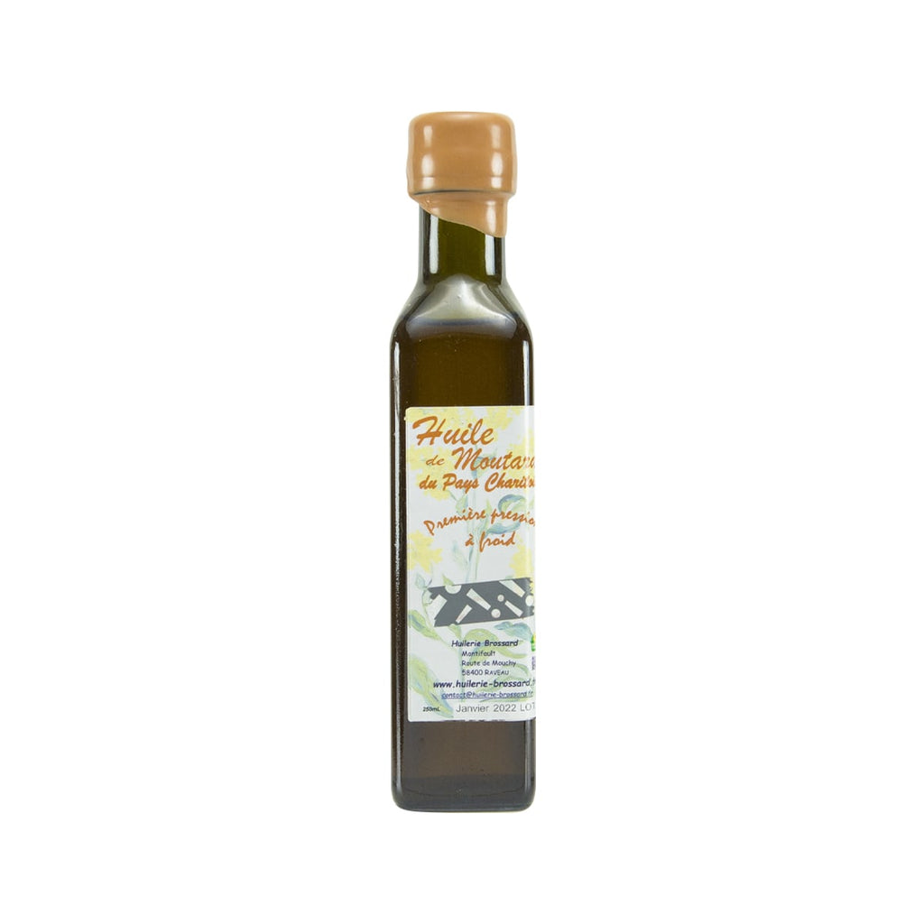 HUILE DE MOUTARDE Mustard Seed Oil  (250mL)