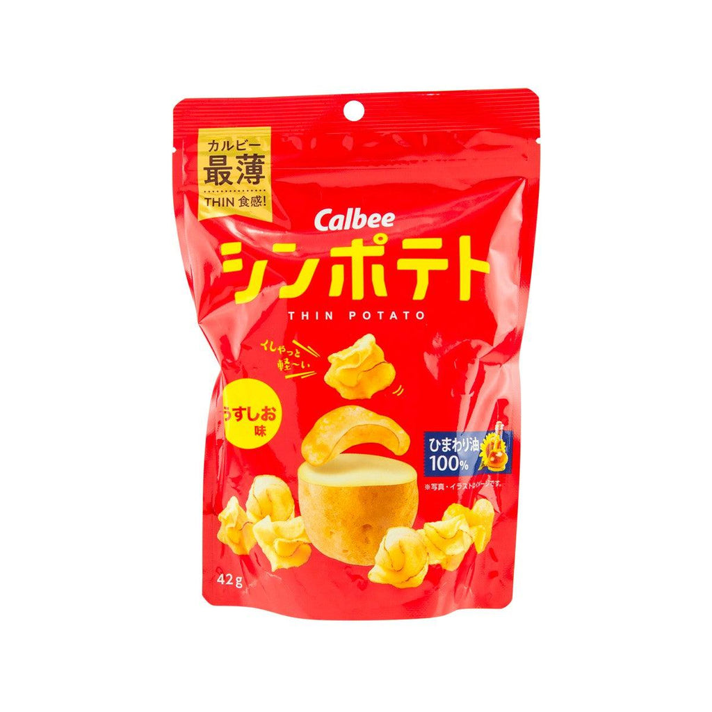CALBEE Thin Potato Chips - Lightly Salted  (47g)