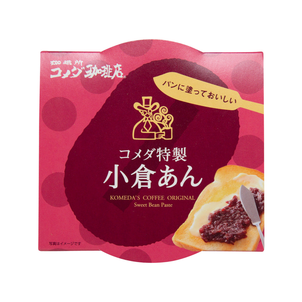 ENDO SEIAN Komeda Coffee Special Ogura Sweetened Mashed Red Bean Paste  (300g)