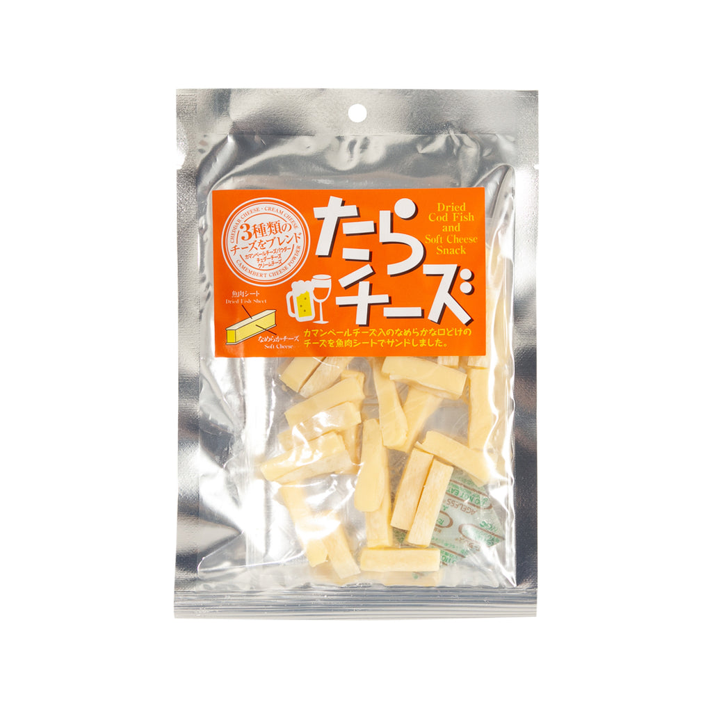 HASESHOKUHIN Dried Cod & Cheese Snack  (70g)