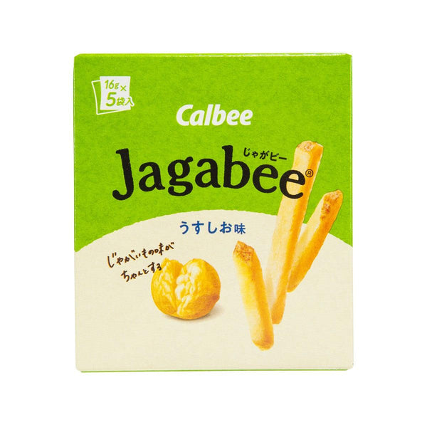 CALBEE Jagabee Potato Stick - Light Salt  (80g)