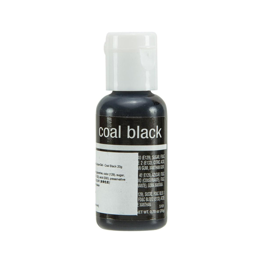 CHEFMASTER Food Coloring Liqua-Gel - Coal Black  (20g)