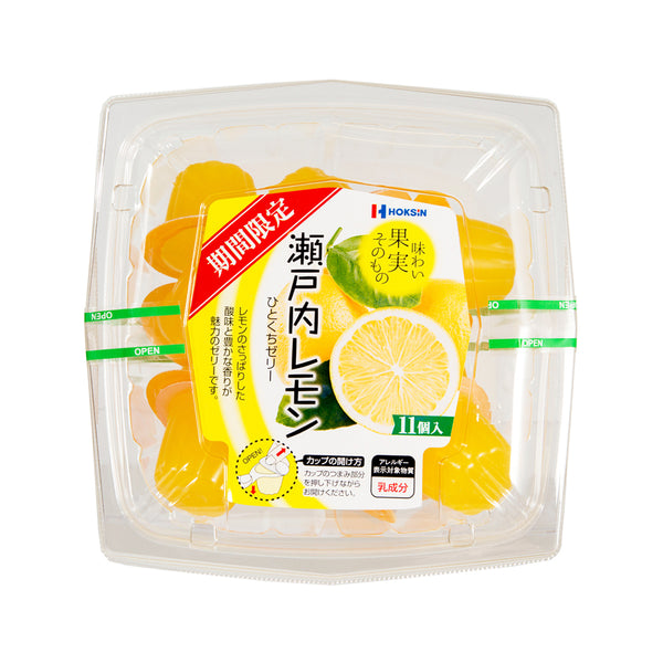 HOKUSHIN Setouchi Lemon Jelly  (11 x 21g)