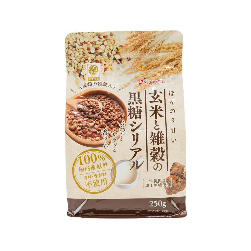 BEST AMENITY Brown Rice and Grains Cereal with Brown Sugar  (250g)