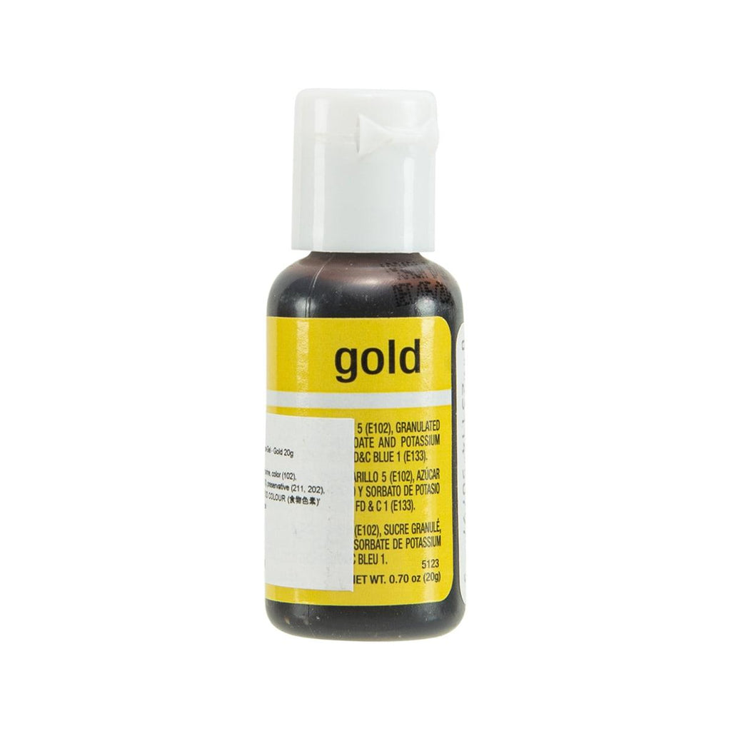 CHEFMASTER Food Coloring Liqua-Gel - Gold  (20g)