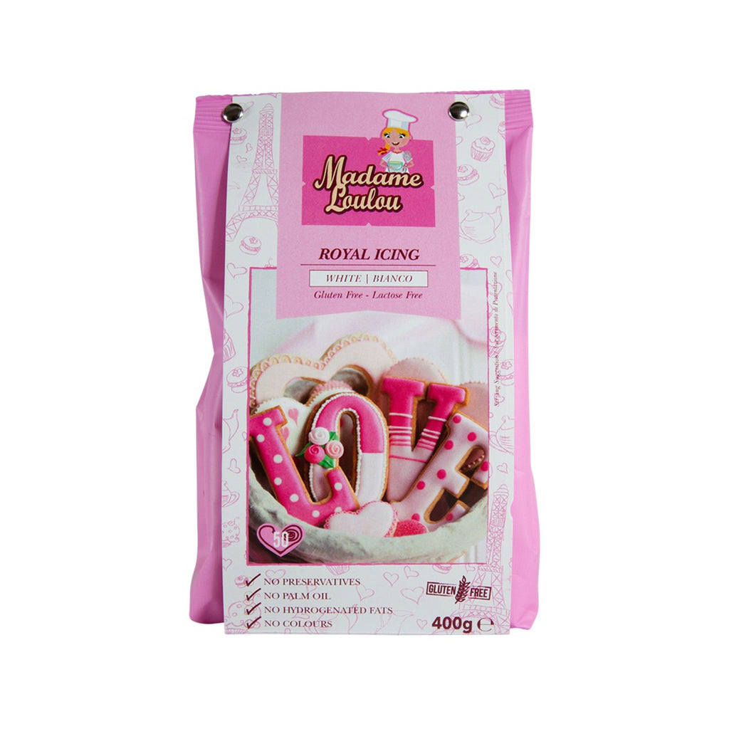 MADAME LOULOU White Royal Icing  (400g)