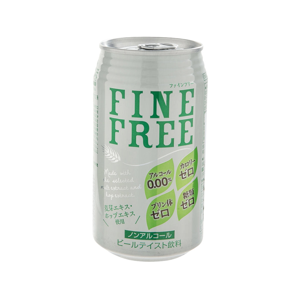 TOMINAGA Fine Free Non-Alcoholic Beer Drink [CAN]  (350mL)