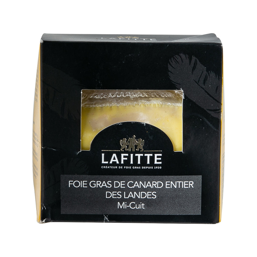 LAFITTE Semi-Cooked Whole Duck Foie Gras from Landes  (280g)