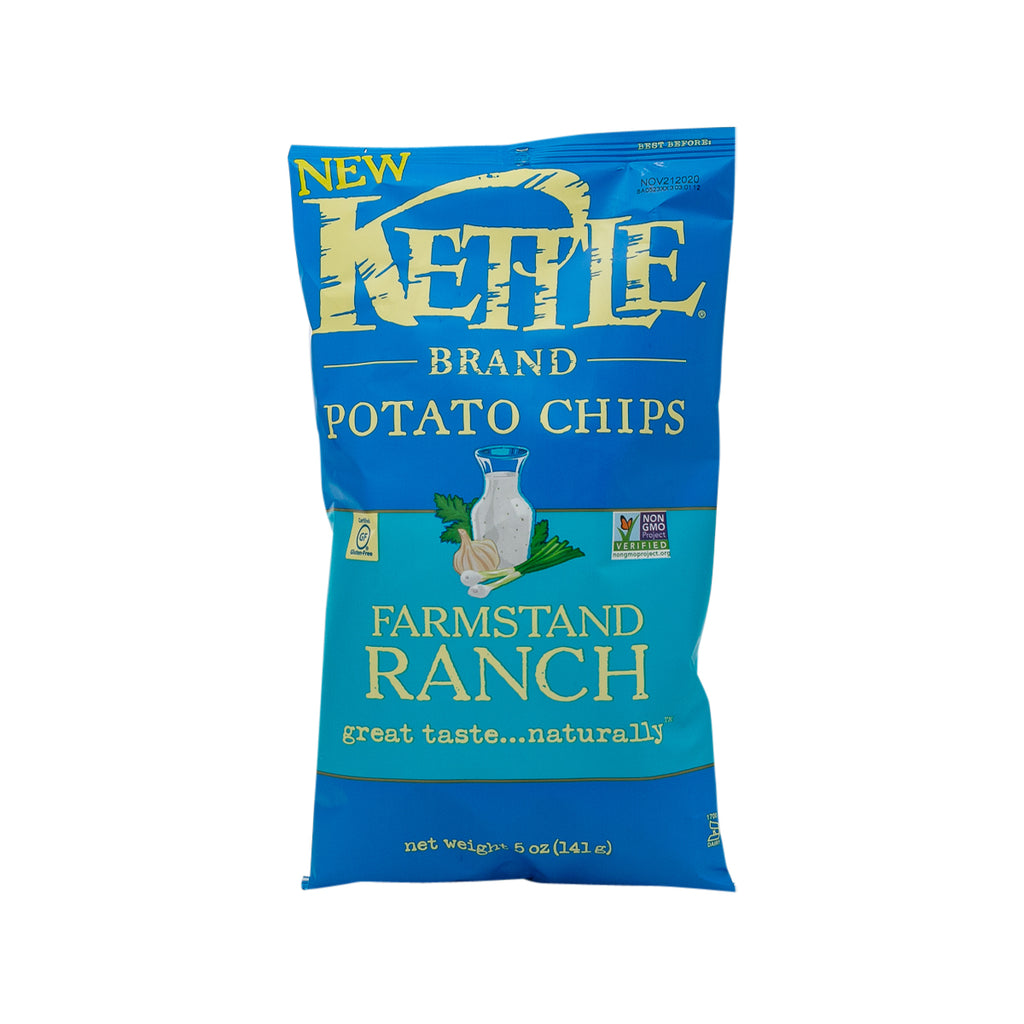 KETTLE Potato Chips - Farmstand Ranch  (141g)