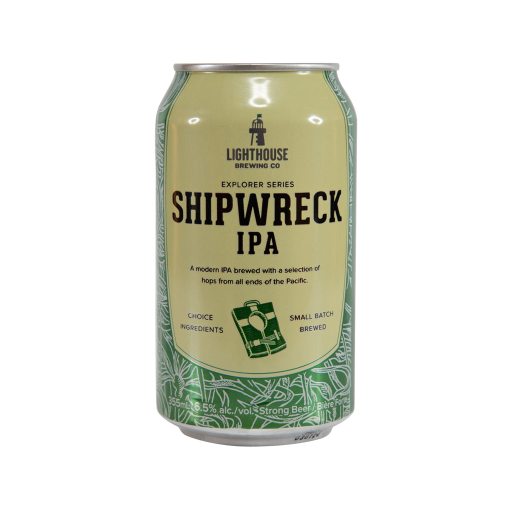 LIGHTHOUSE Shipwreck India Pale Ale (Alc. 6.5%) [CAN]  (355mL)