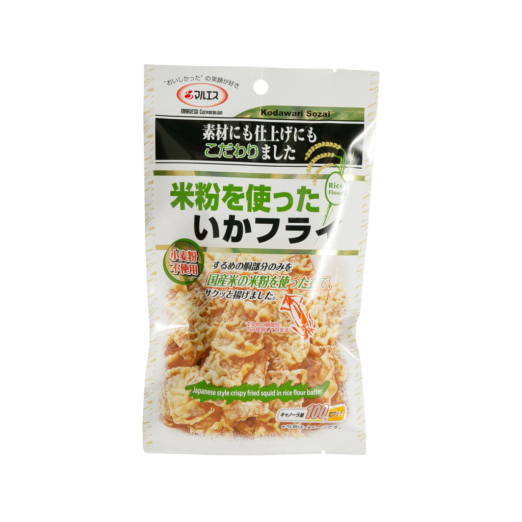 MARUESU Japanese Style Crispy Fried Squid in Rice Flour Batter  (40g)
