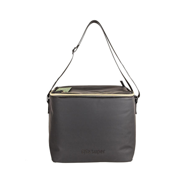 CITYSUPER Matt Black Cooler Crossbody Bag