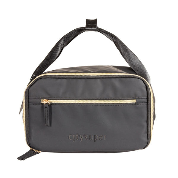 CITYSUPER Matt Black Handy Cooler Bag