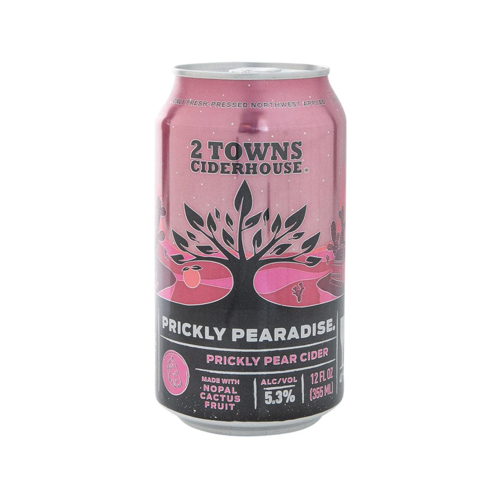 2 TOWNS CIDERHOUSE Prickly Pear Cider (Alc. 5.3%) [CAN]  (355mL)