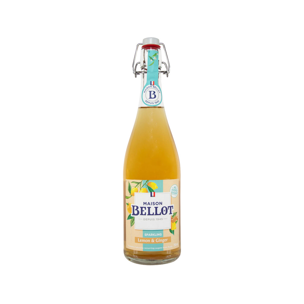 MAISON BELLOT Lemon & Ginger Sparkling Juice  (750mL)
