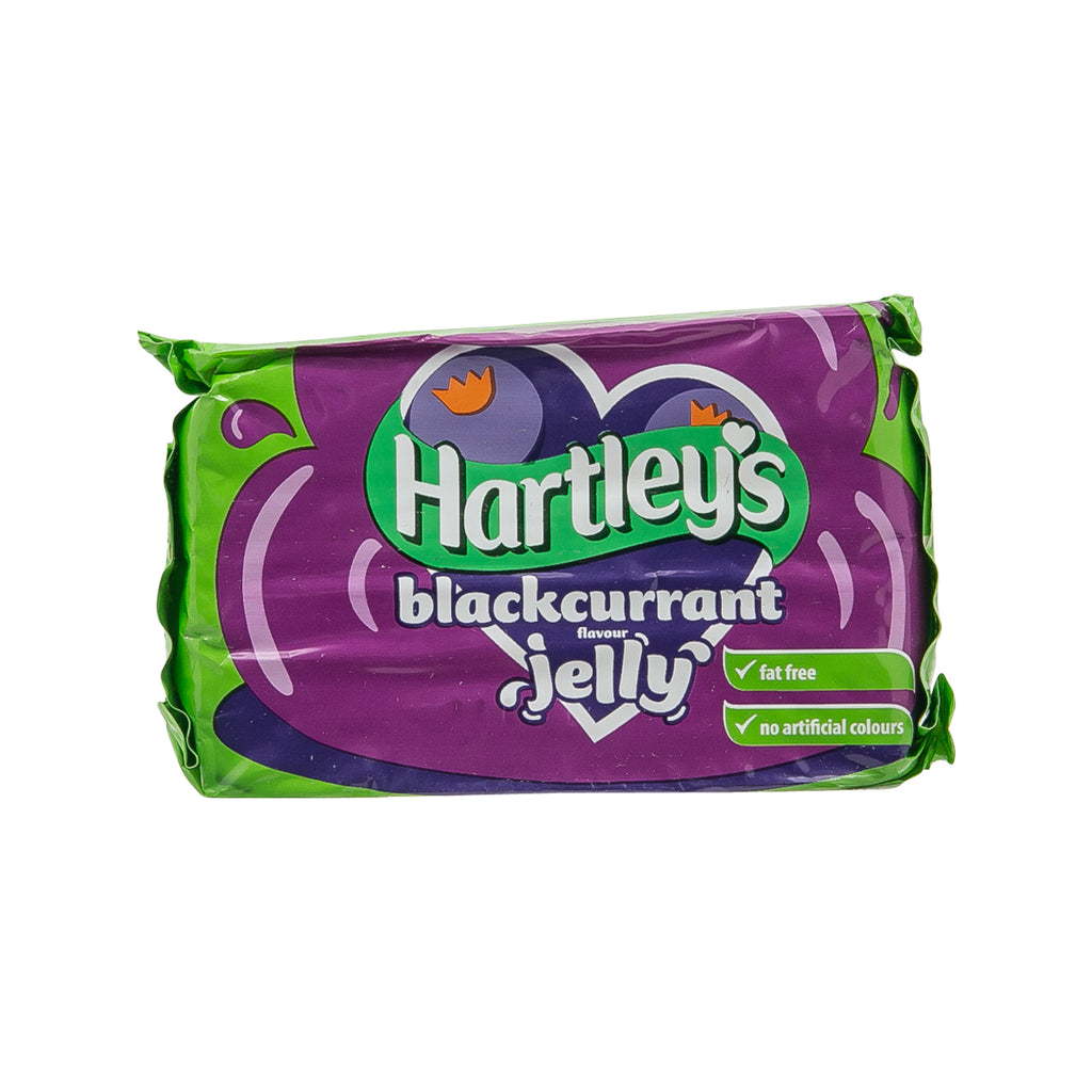 HARTLEY'S Blackcurrant Flavour Jelly  (135g)