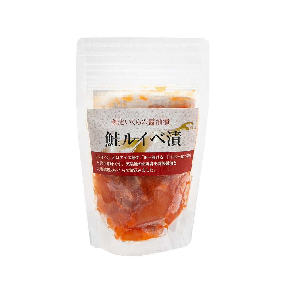 SATOSUISAN Pickled Salmon and Roe in Soy Sauce  (100g)
