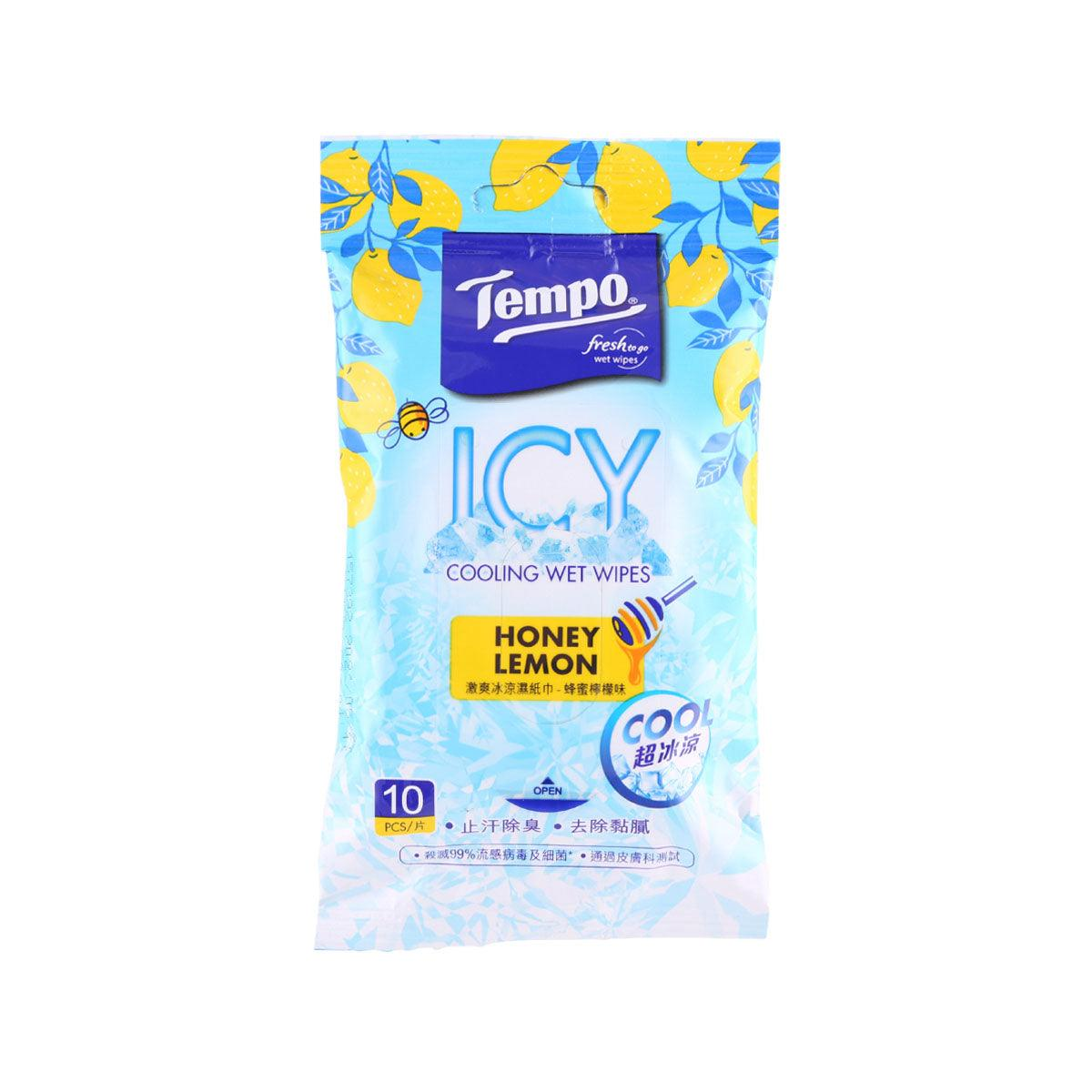 TEMPO Cooling Wet Wipes