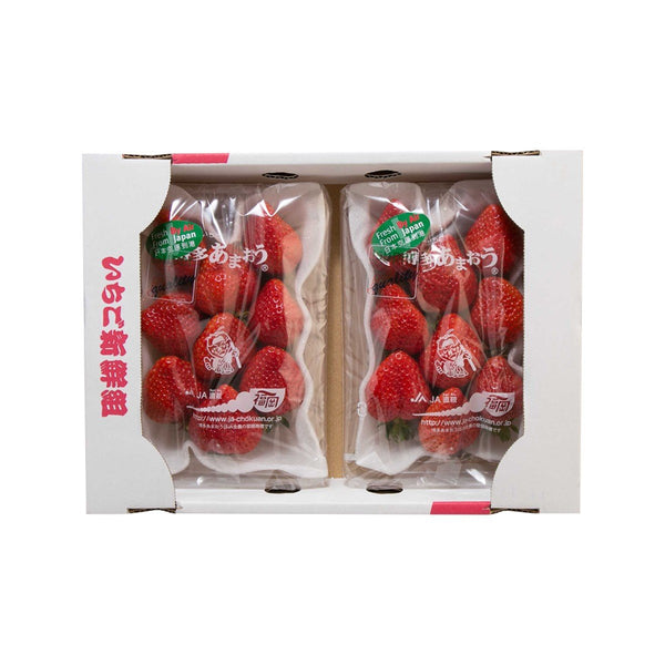 Japanese Amaou Strawberry Twin Pack  (2packs)