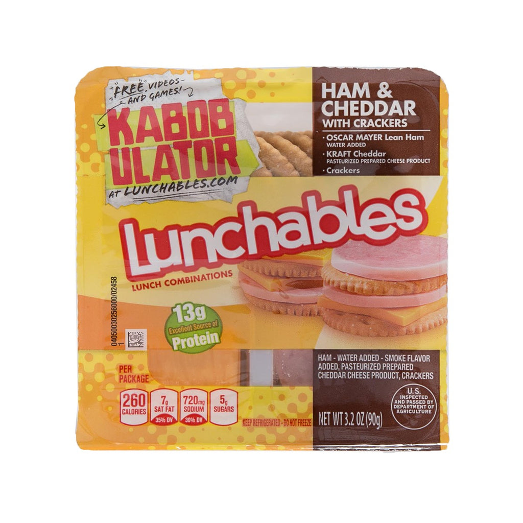 OSCAR MAYER Lunchables - Ham & Cheddar With Crackers  (90g)