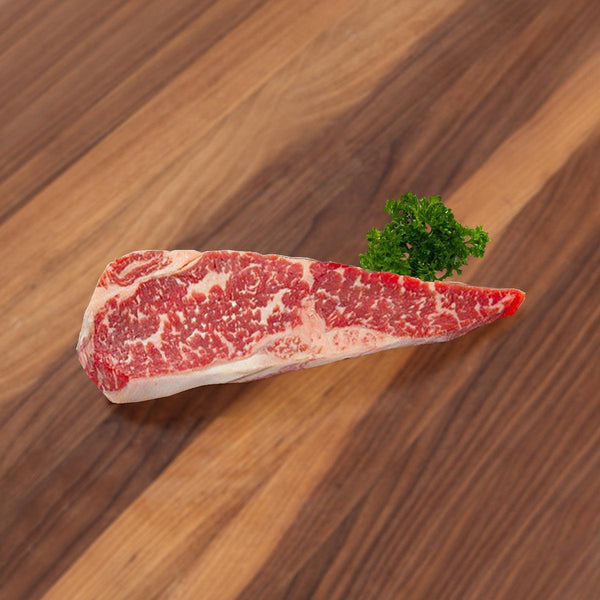 CITYSUPER DRY AGED BEEF Chilled 60 Days Dry Aged USA Long Term Grain Fed Angus Beef Striploin  (300g)