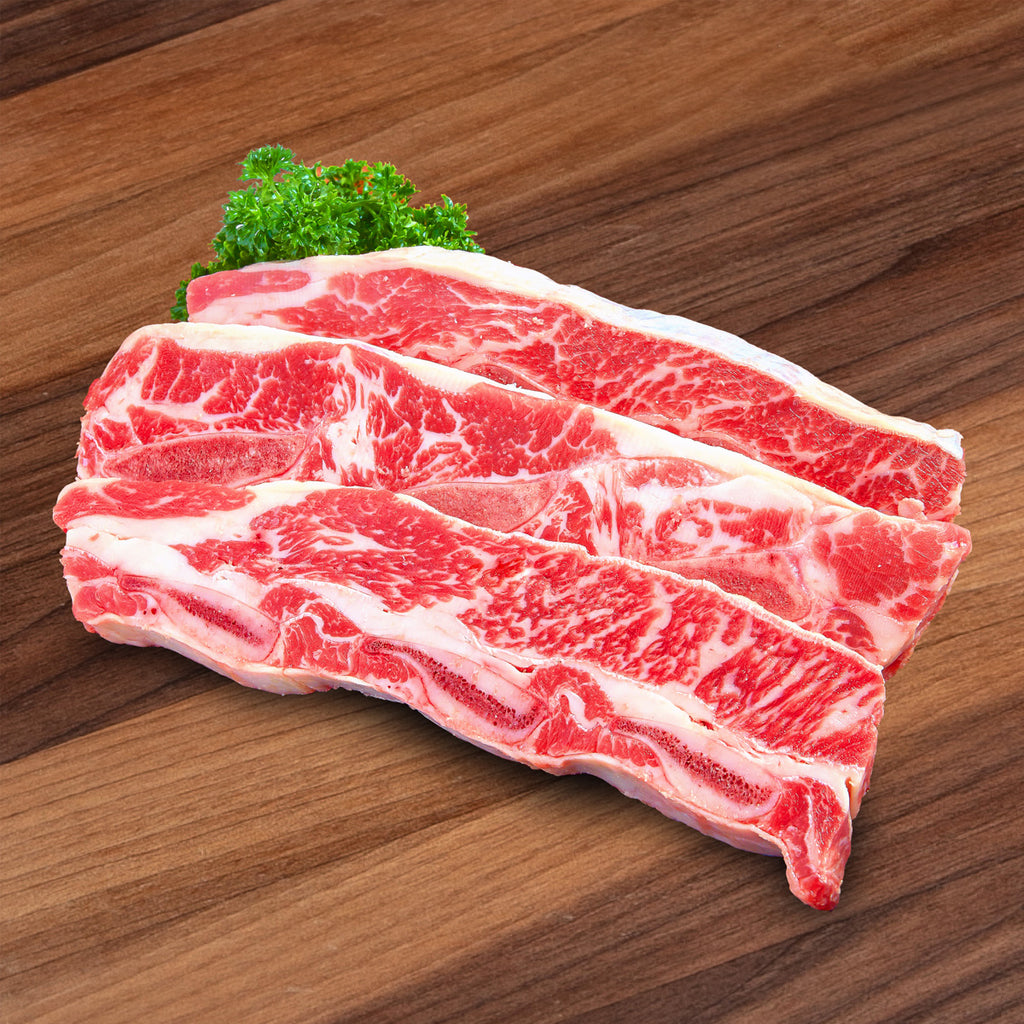 USA Angus Beef Short Rib [Previously Frozen]  (450g)