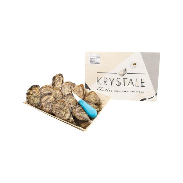 French Krystale Oyster Nr.2 (With Opening Service) (12pcs)