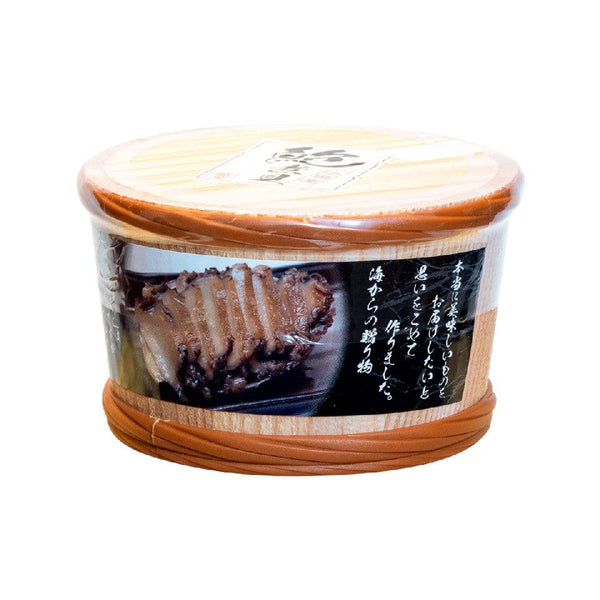 AWABIYA Cooked Abalone With Soy Sauce In Barrel [Previously Frozen] (1pc)