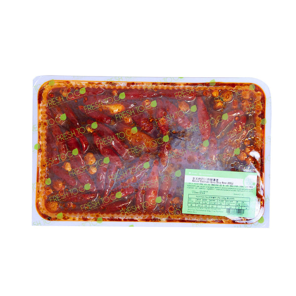 FRESH TO GO Natural Szechwan Spicy Soup Base  (650g)