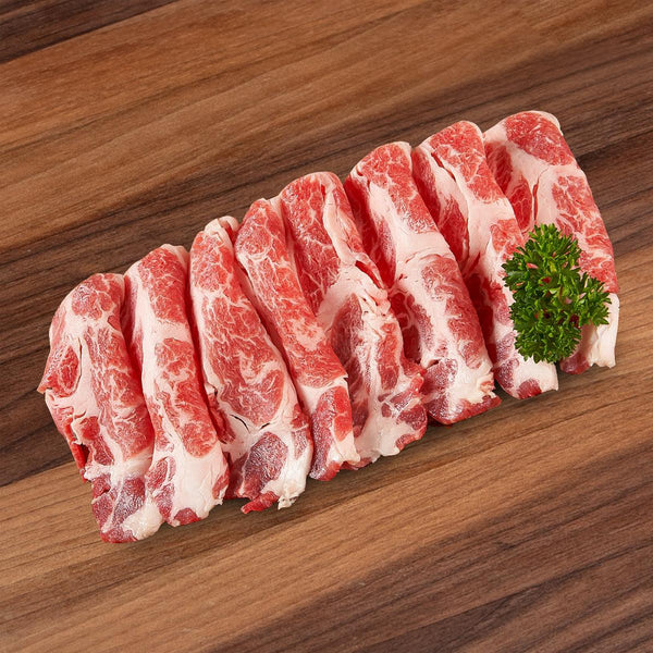 CITYSUPER Spanish Iberico Pork For Sukiyaki (Acorn Fed - Bellota) [Previously Frozen]  (200g)