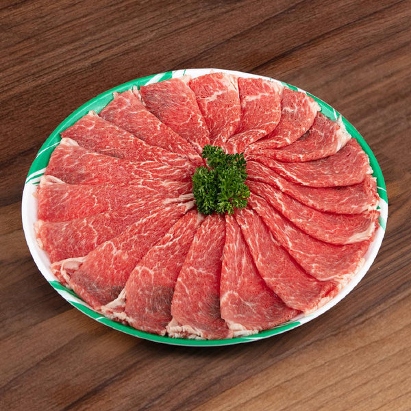 Spanish Iberico Pork Set For Sukiyaki (Acorn Fed - Bellota) [Previously Frozen]  (1pack)