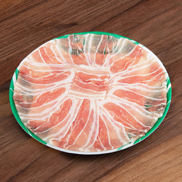 FRILAND Danish Organic Pork Belly Set - Shabu Shabu [Previously Frozen]  (1pack)